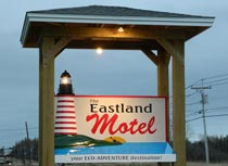 The Eastland Motel on Route 189 in Lubec
